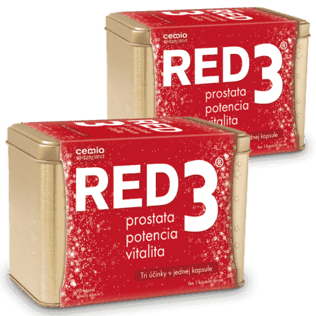 Cemio RED3, 2 x 90 kapsúl ( 180 ks ) - darček 2019