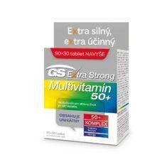 GS Extra Strong Multivitamín 50+, 90+30 tabliet (120 ks)