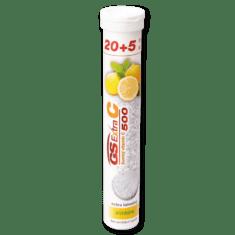 GS Extra C 500 šumivý - citrón, 20 + 5 tabliet
