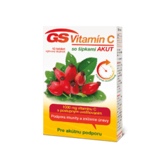 GS Vitamín C 1000 so šípkami AKUT, 10 tabliet