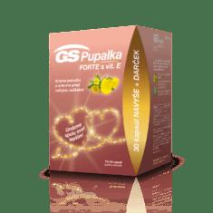 GS Pupalka FORTE s vitamínom E, 70 + 30 kapsúl - darček 2020
