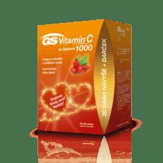 GS Vitamín C 1000 so šípkami, 100 + 20 tabliet - darček 2020