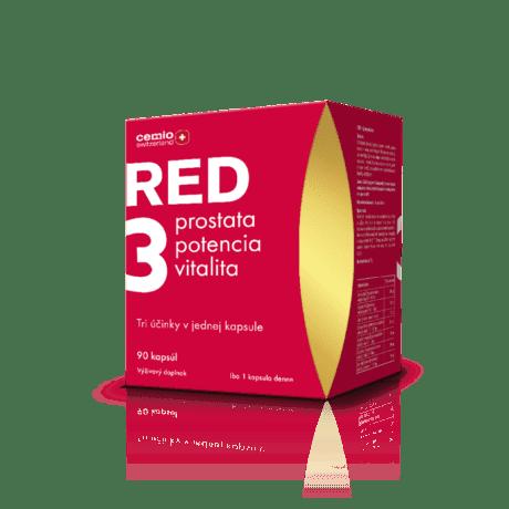 Cemio RED3, 90 kapsúl - darček 2020