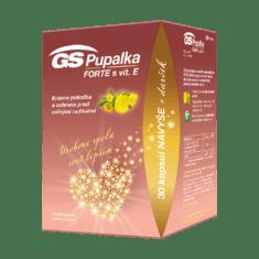GS Pupalka FORTE s vitamínom E, 70 + 30 kapsúl, darčekové balenie 2021