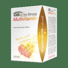 GS Extra Strong Multivitamín, 60 + 60 tabliet, darčekové balenie 2021