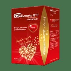 GS Koenzým Q10, 60 mg, 45 + 45 kapsúl, darčekové balenie 2021