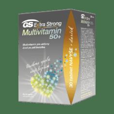 GS Extra Strong Multivitamín 50+, 90 + 30 tabliet, darčekové balenie 2021
