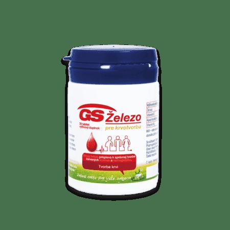 GS Železo pre krvotvorbu, 30 tabliet