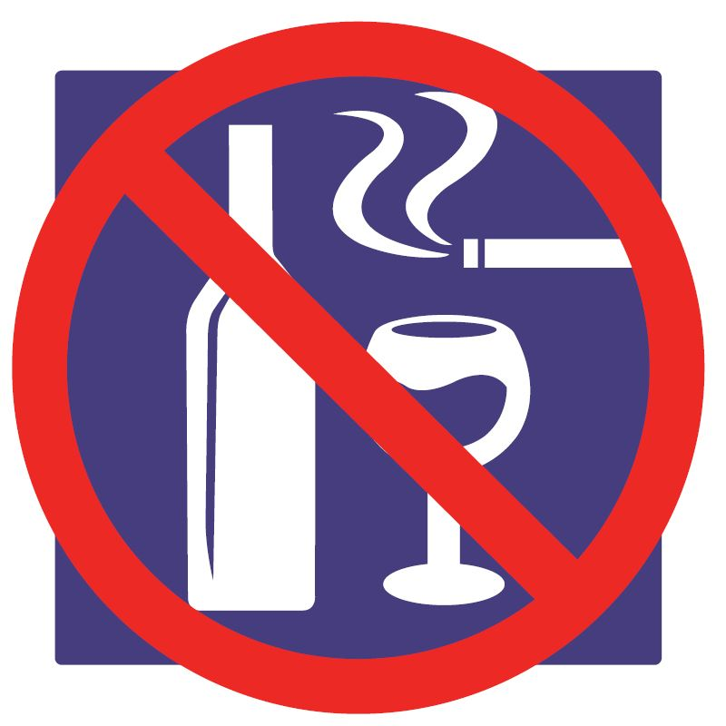 Nepite alkohol