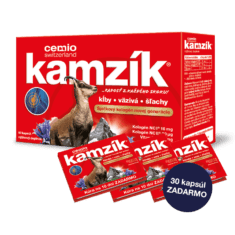 Cemio Kamzík, 60 kapsúl + 30 kapsúl zadarmo