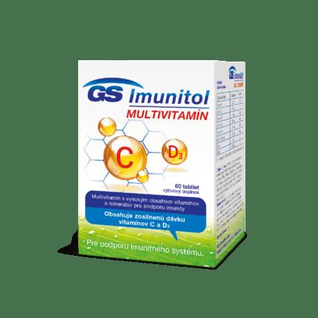 GS Imunitol s vitamínom C a D3, 60 tabliet