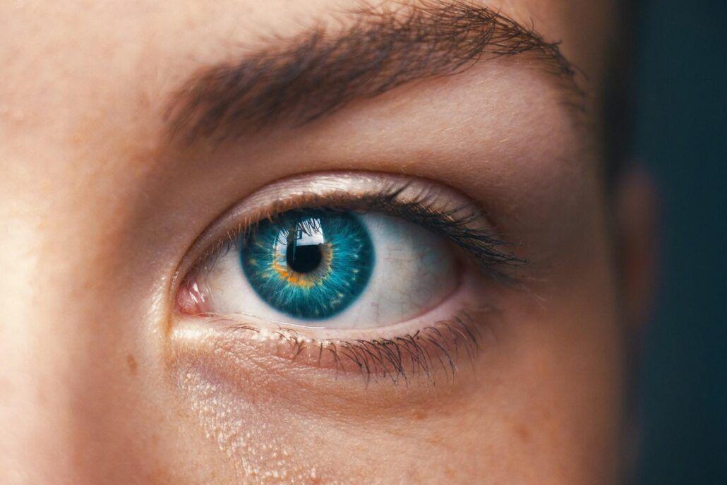 Zdravie očí - ženská oko