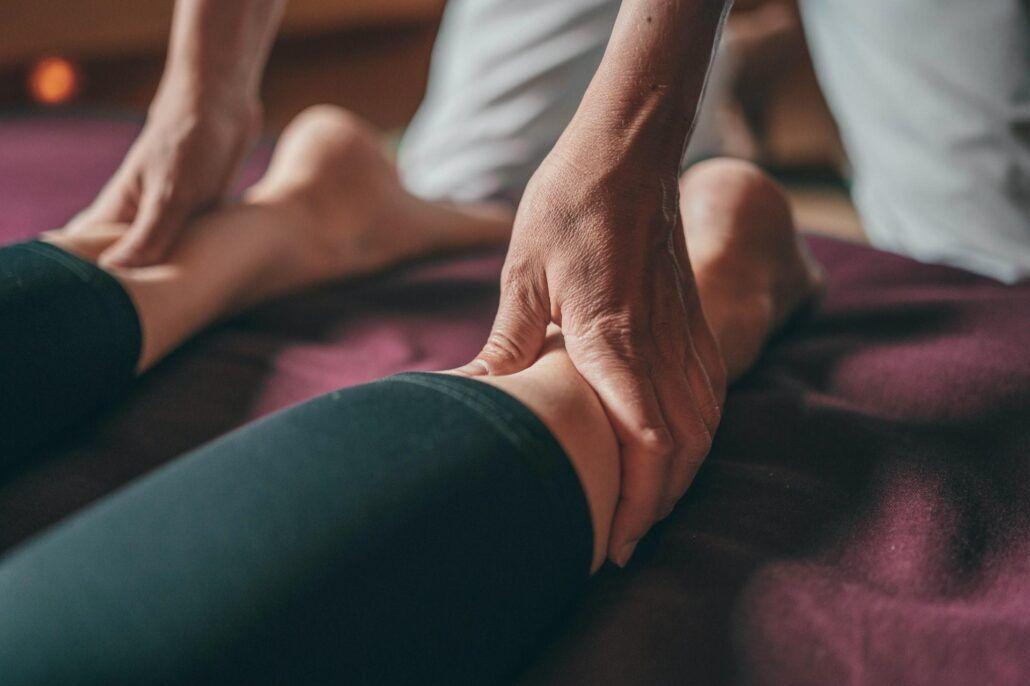 Opuchnuté nohy - masáž nôh