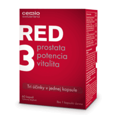 Cemio RED3, 30 kapsúl