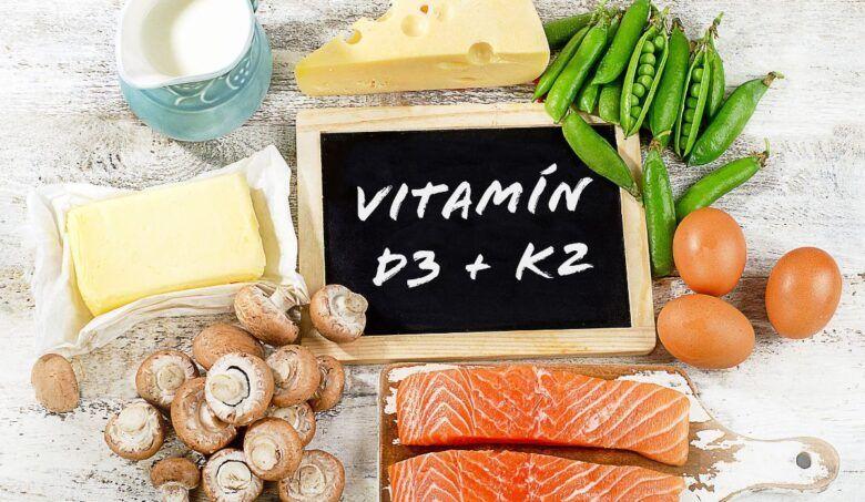 Poznáte účinky vitamínov D3 a K2?