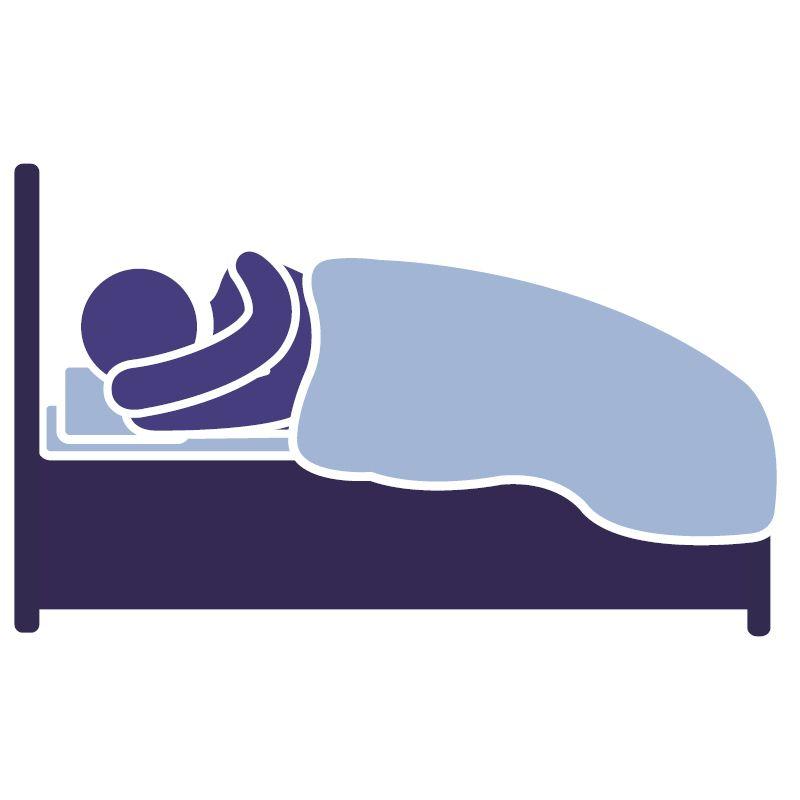 Spánok - spite aspoň 8 hodín denne
